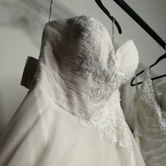 Maggie Sottero Dresses & Skirts - Maggie Sottero Hattie Tulle A-Line Wedding Dress